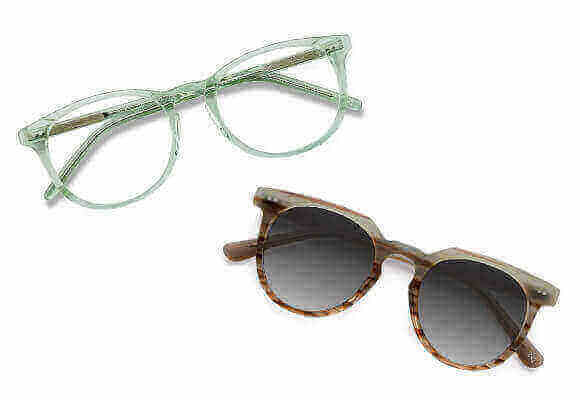 buy one eyeglasses, get 50% off sunglasses