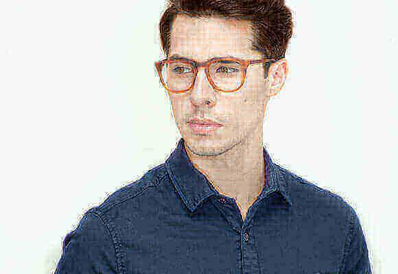 Brown Eyeglasses Men