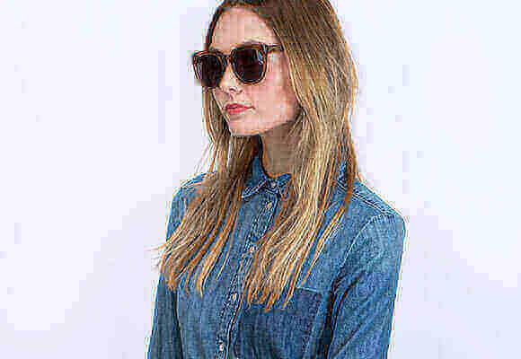 Brown Sunglasses Woman