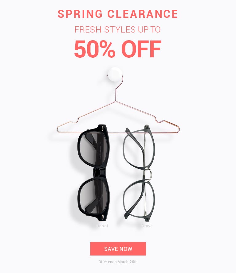 Spring Clearance  Fresh styles up to 50% Off